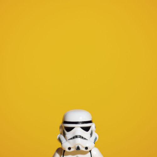 Dark vador yellow