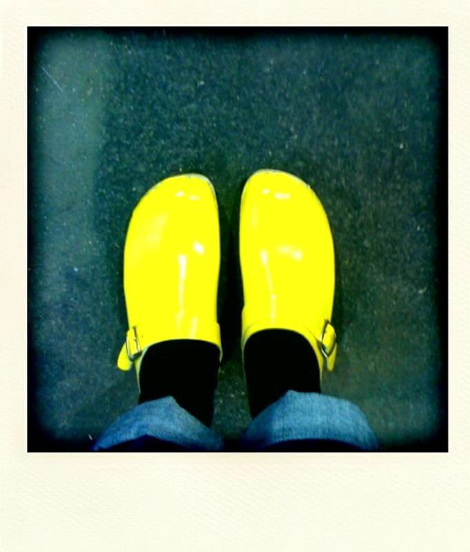 Sabot jaune